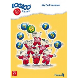 My First Numbers, LOGICO Educational Learning Cards, Ages 5+