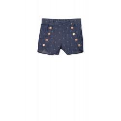 Milky Denim Shorts