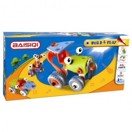 Baisiqi - Build & Play Tractor 3 Models 6813