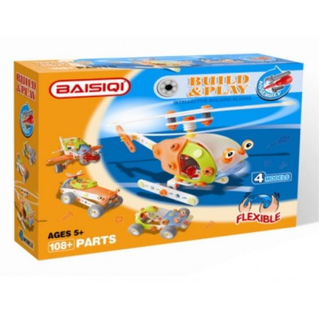 Baisiqi - Build & Play Helicopter 4 Models 6826
