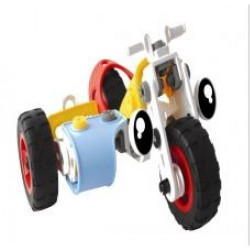 BAISIQI Build & Play Trike, Bike & Helicopter