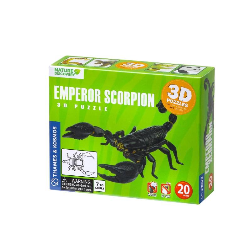 Thames & Kosmos - 3D Emperor Scorpion Puzzle