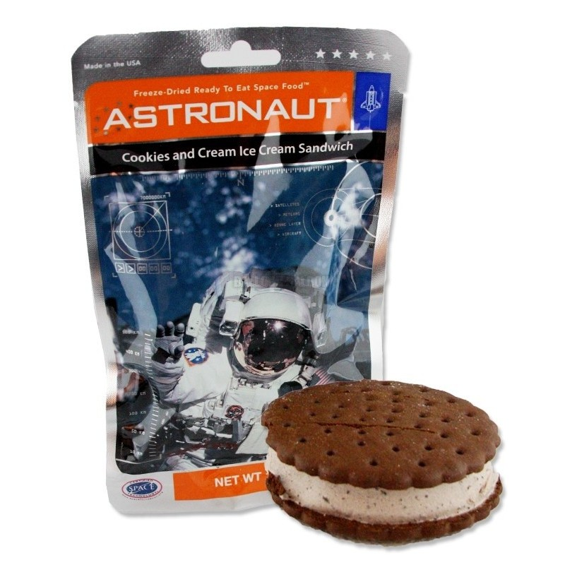 Astronaut Ice Cream Cookies & Cream