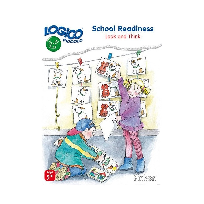 School Readiness, LOGICO Piccolo Educational Learning Cards, Ages 5+