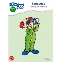 Language,( Ready for reading) LOGICO Piccolo Educational Learning Cards, Ages 6+