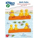 Math Paths 1 - LOGICO Educational Learning Cards, Ages 6+