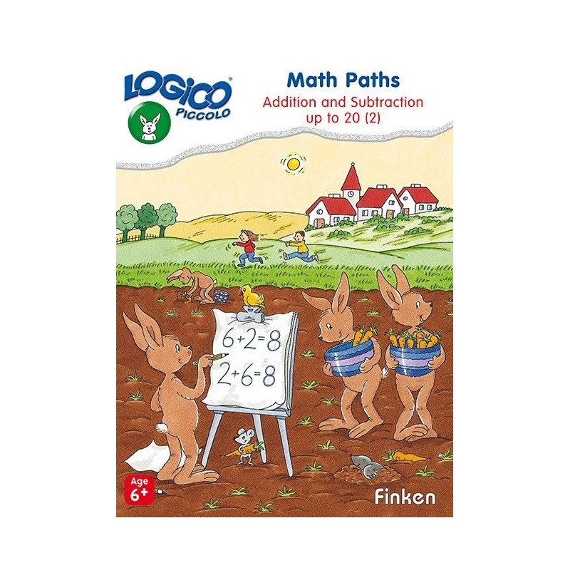 Math Paths 2, LOGICO Piccolo Educational Learning Cards, Ages 6+