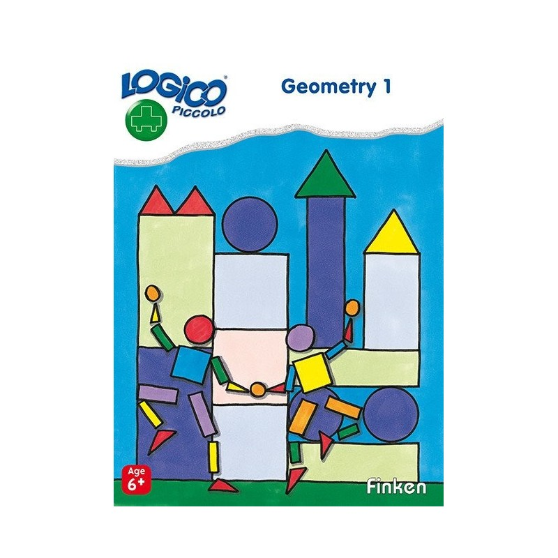 Geometry 1 , LOGICO Piccolo Educational Learning Cards, Ages 6+