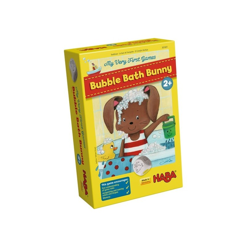 Haba - My Very First Games – Bubble Bath Bunny