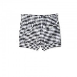 Milky Check Short