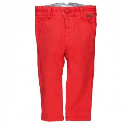 Boboli - Satin stretch trousers Red