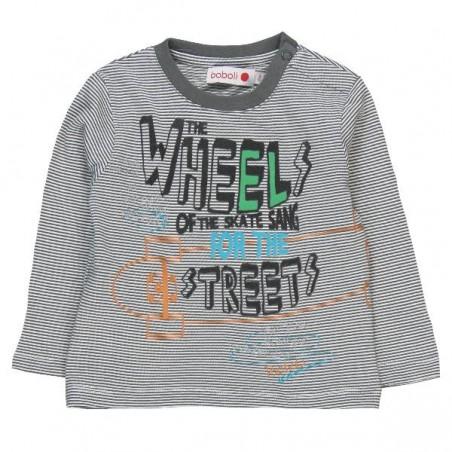 Boboli - Stretch knit T-shirt for boy