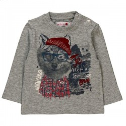 Boboli - Knit T-shirt flame