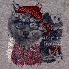 Boboli - Winter 2018 Knit T-shirt flame