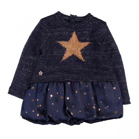 Boboli - Winter 2018 Knitwear Combined Dress