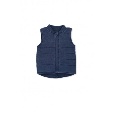 Milky - Knit Denim Vest