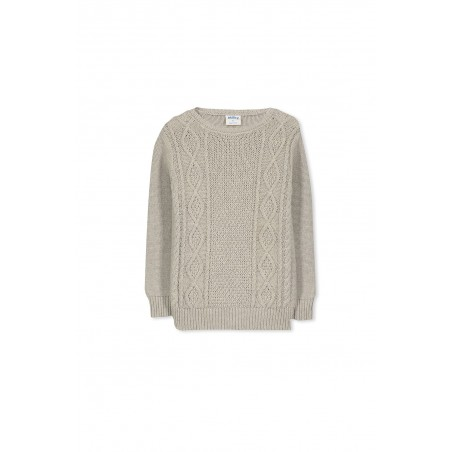 Milky - Cable Knit Crew
