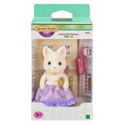 Sylvanian Families - Town Girl Silk Cat