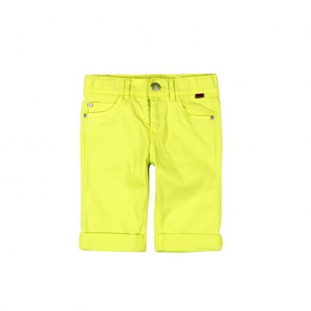 Boboli - Stretch twill bermuda shorts citrus