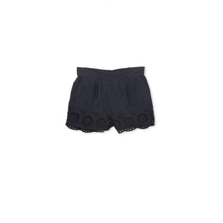 Milky - Navy Broderine Short