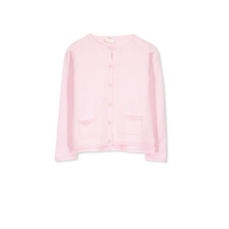 Milky - Pink Cardigan with pockets