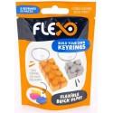 Flexo Key Ring Orange