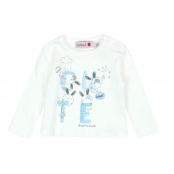 Boboli - Interlock T-shirt for baby boy