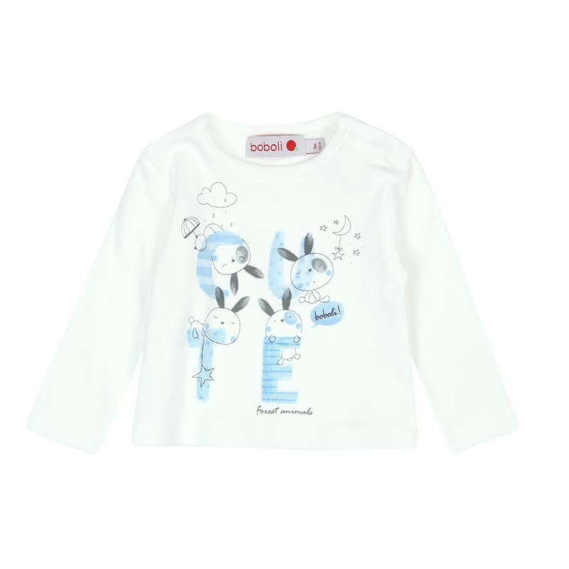 Boboli - Interlock T-shirt for baby boy