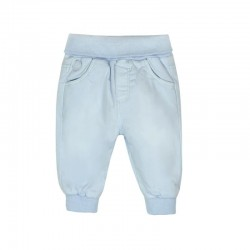 Boboli - Stretch gabarine trousers for baby boy