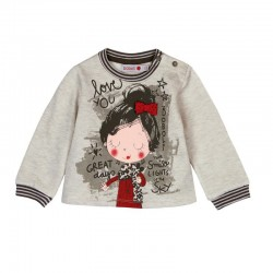 Boboli - Fleece sweatshirt for baby and toddler girl