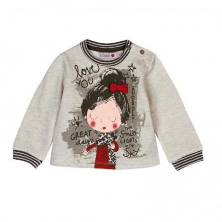 Boboli - Fleece sweatshirt for baby and toddler girl