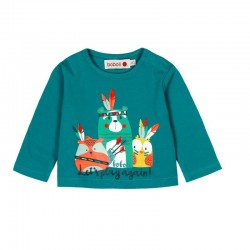 Boboli - Stretch knit T-shirt for baby boy