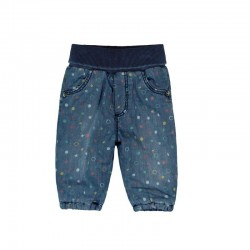 Boboli - Denim trousers for baby girl