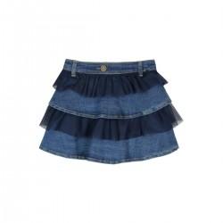 Boboli - Denim Ruffle Skirt for girl