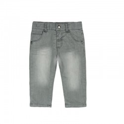 Boboli - Denim stretch trousers for baby boy
