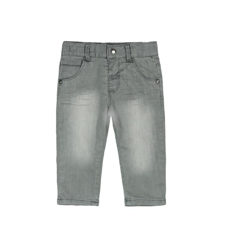 Boboli - Denim stretch trousers for baby boy