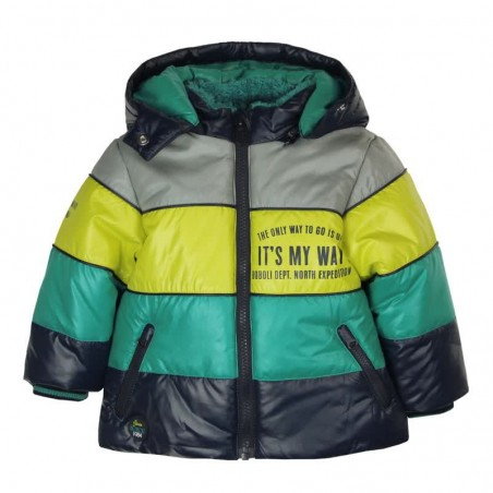 Boboli - Technical Fabric parka for baby and toddler boy