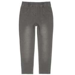 Boboli - Fleece denim trousers for girl