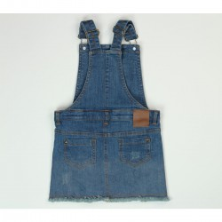 Boboli - Stretch denim pinafore for girl