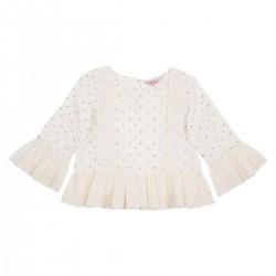 Tahlia by Minihaha - Savannah Lace trim blouse