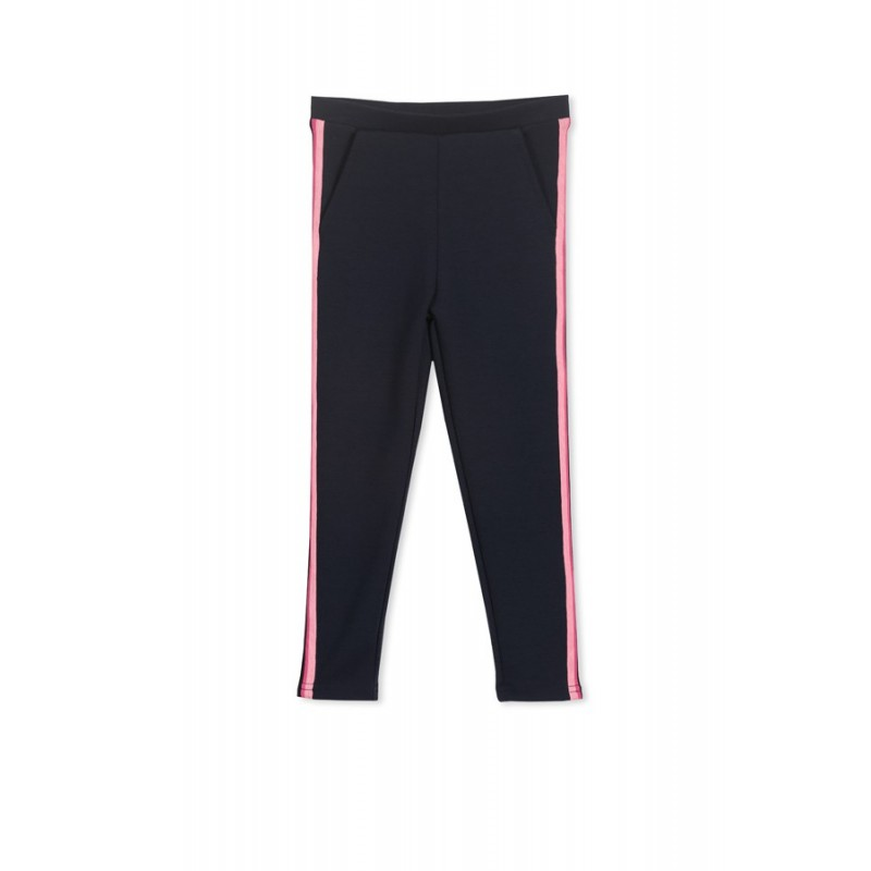 Milky - Side stripe pant
