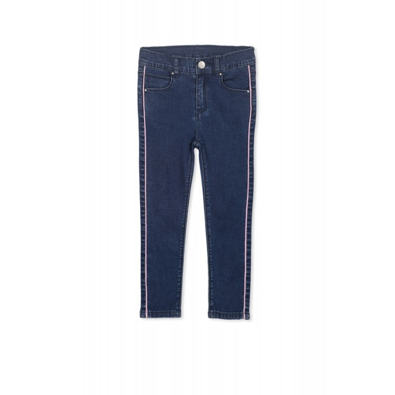 Milky - Side Pipe Jean Denim