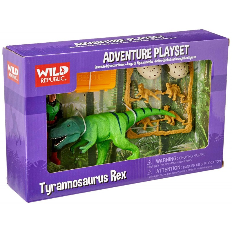 Wild Republic - Adventure Playset T-Rex