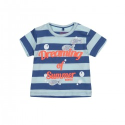Boboli - Knit T-shirt striped for baby boy