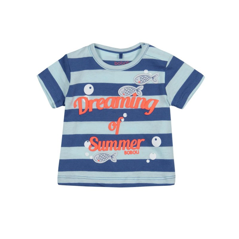 Boboli - Knit T-shirt striped for baby boy