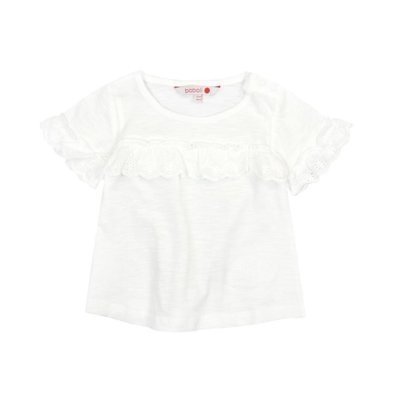 Boboli - Knit t-shirt flame for baby girl