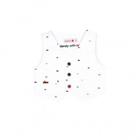 Boboli - Vest oxford for baby boy