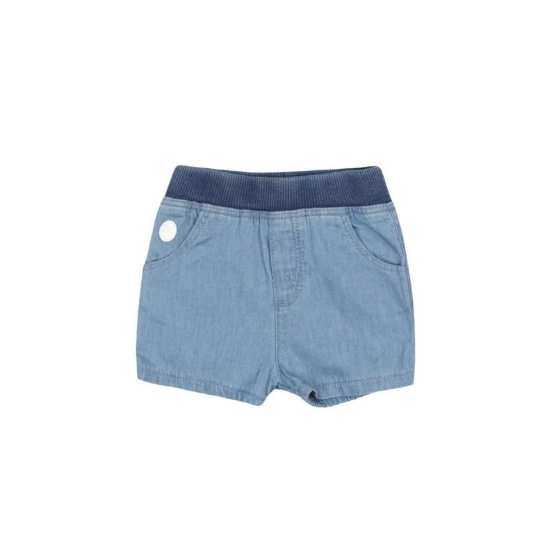 Boboli - Denim bermuda shorts for baby boy