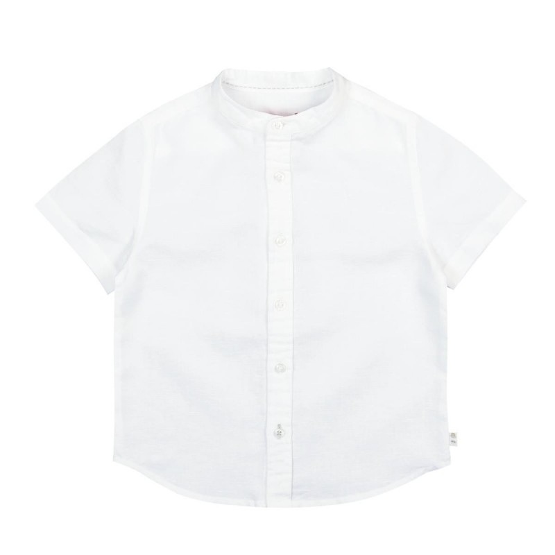 Boboli - Linen short sleeve shirt for boy