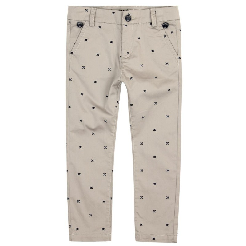 Boboli - Stretch Satin trousers with suspenders for boy
